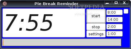 Pie Break Reminder screenshot 2