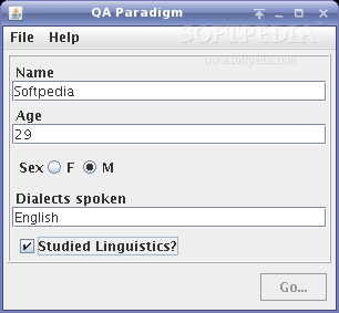 QAParadigm screenshot 1