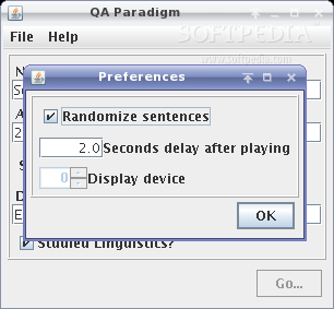 QAParadigm screenshot 2