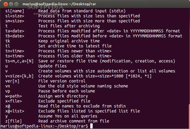 Download RAR Linux 5 71