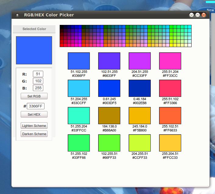 Download Rgb Hex Color Picker Linux 1 3