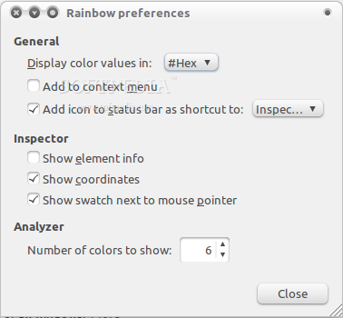 Rainbow Color Tools screenshot 1