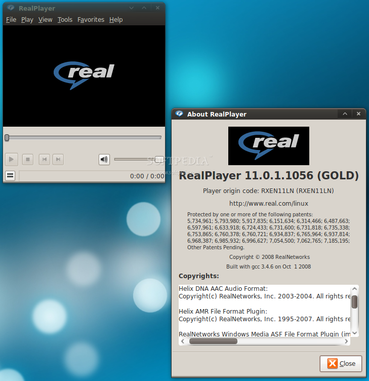 RealPlayer Portable screenshot 1