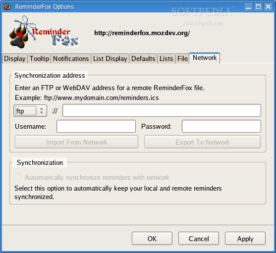 ReminderFox for SeaMonkey screenshot 2