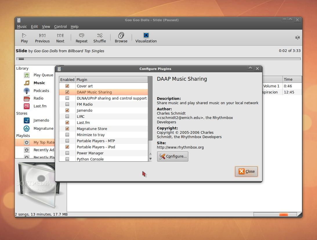 Download Rhythmbox Linux 3 4 3