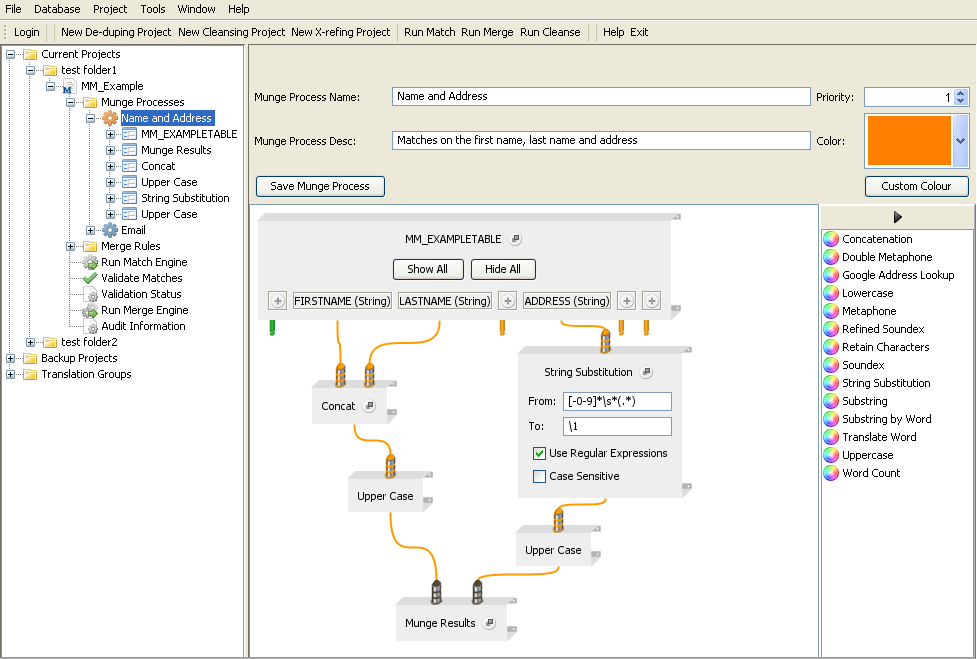 SQL Power DQguru screenshot 1