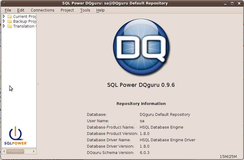 SQL Power DQguru screenshot 2