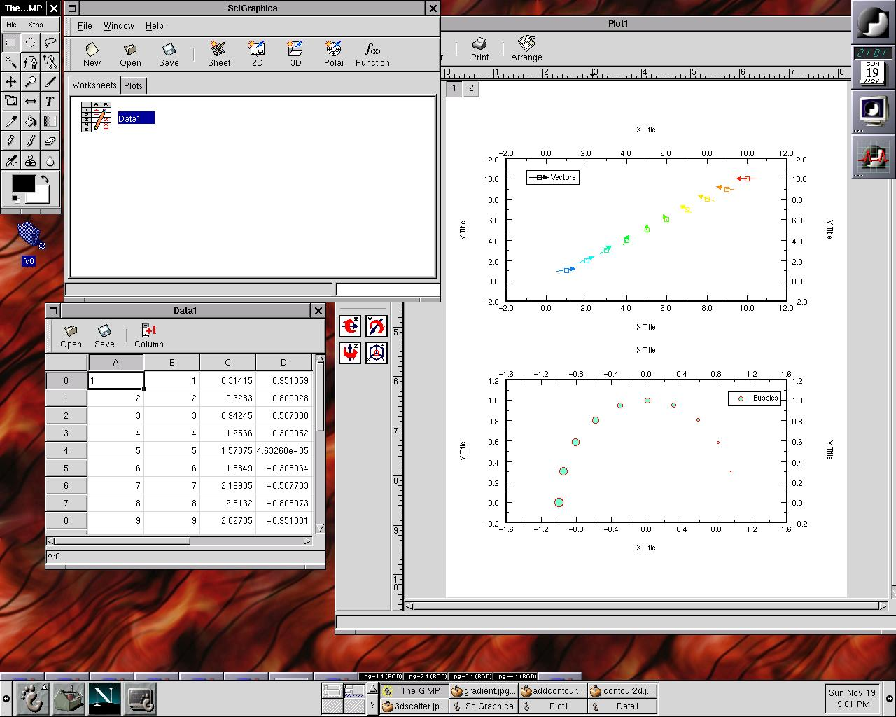 SciGraphica screenshot 3