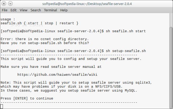 Download Seafile Server for Raspberry Pi Linux 4 4 3