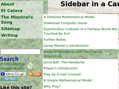 Sidebar in a Can screenshot 3