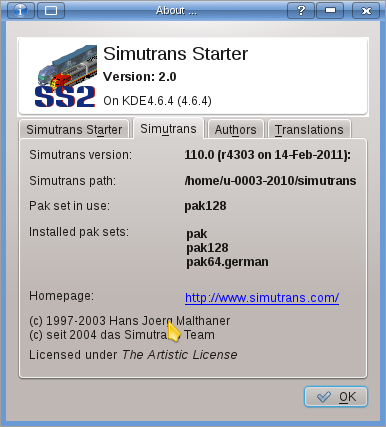 Simutrans Starter screenshot 5