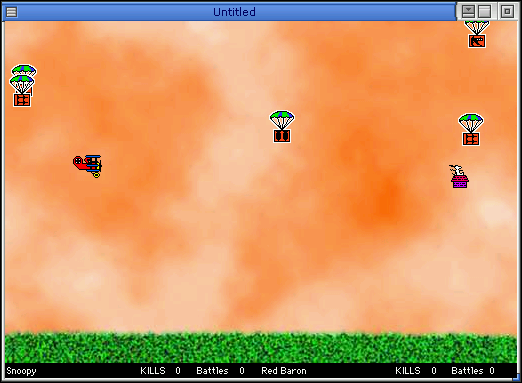 Snoopy vs. the Red Baron screenshot 1