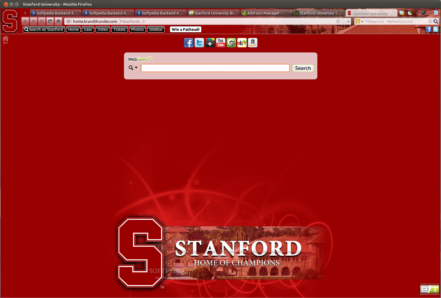 Stanford University for Firefox screenshot 1