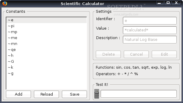 Status-bar Scientific Calculator for Firefox screenshot 2