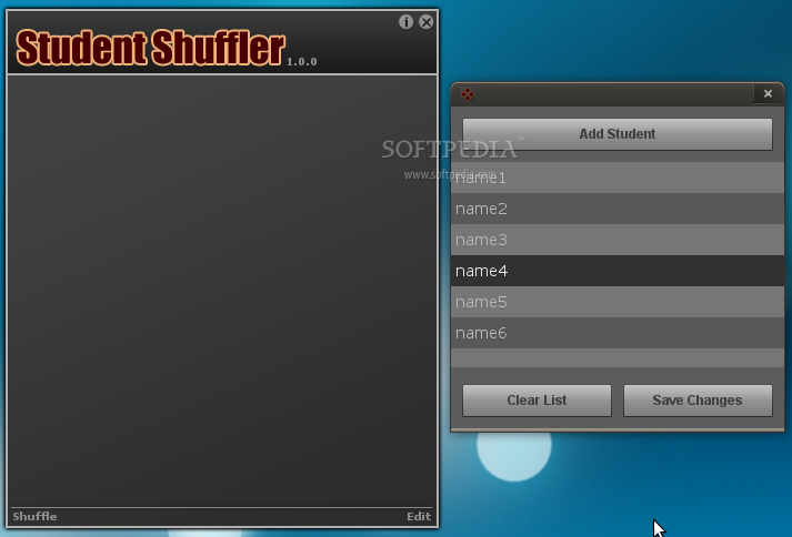 Student Shuffler screenshot 1