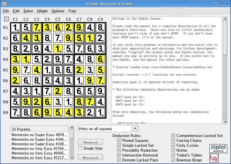 Download Sudoku Susser Linux 2 5 1