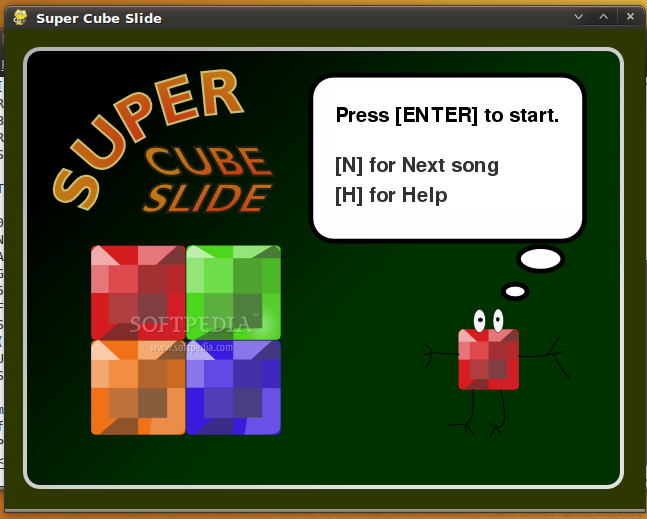 Super Cube Slide screenshot 1