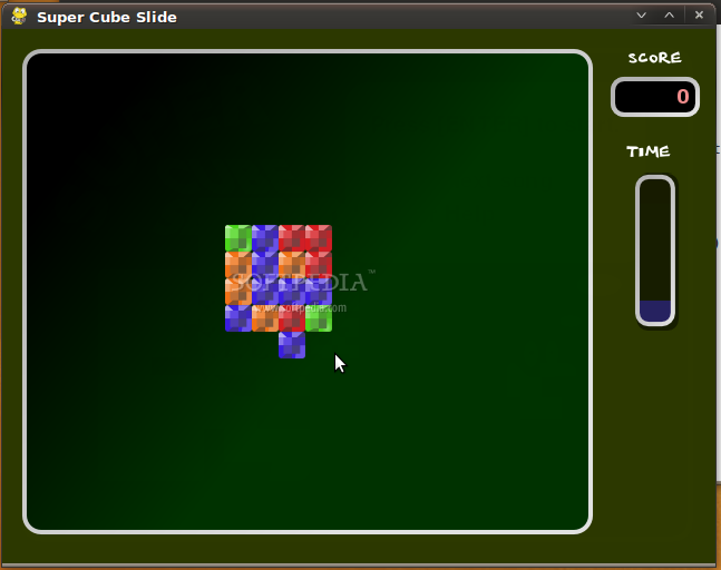 Super Cube Slide screenshot 2