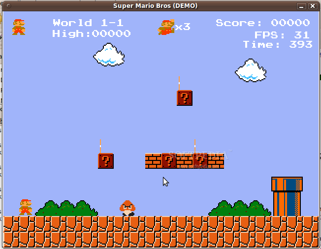 Download Super Mario Bros  Python Linux Final