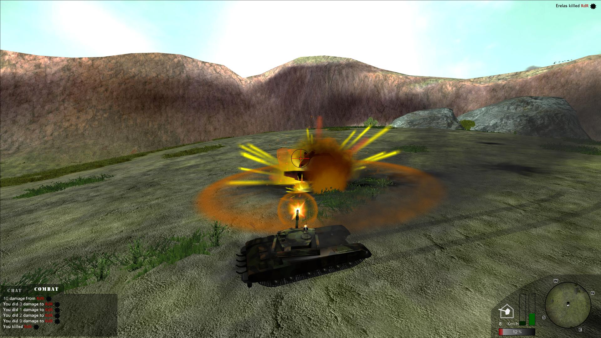 TANK@WAR screenshot 1