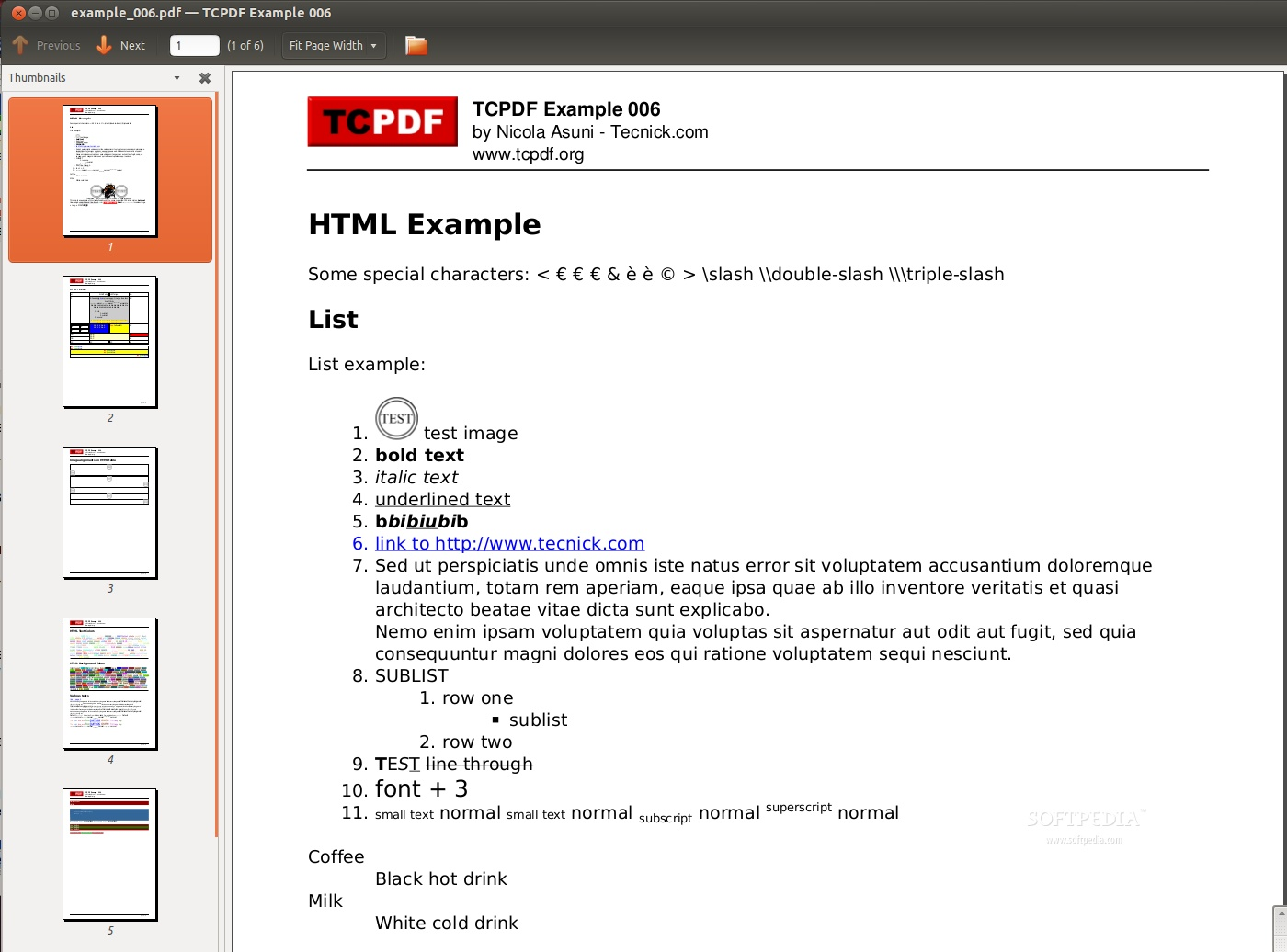Download TCPDF Linux 6 2 12