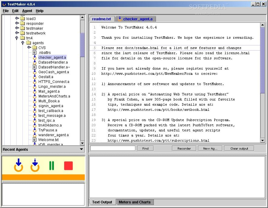 TestMaker screenshot 1