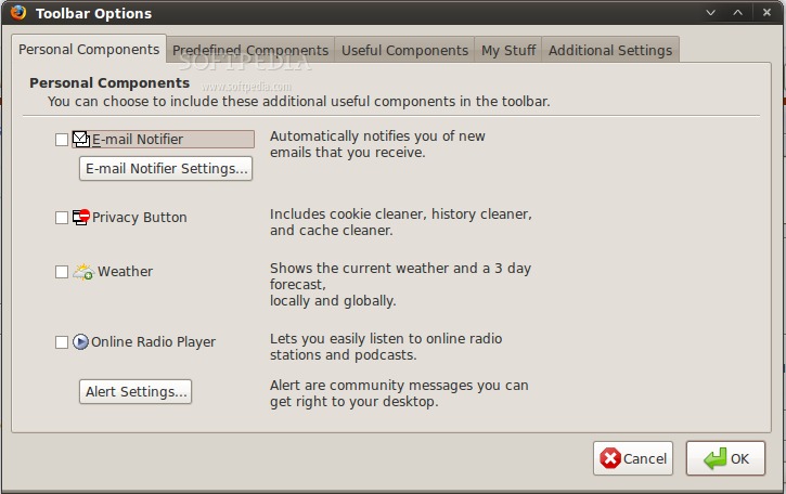 The Korfball Toolbar screenshot 1