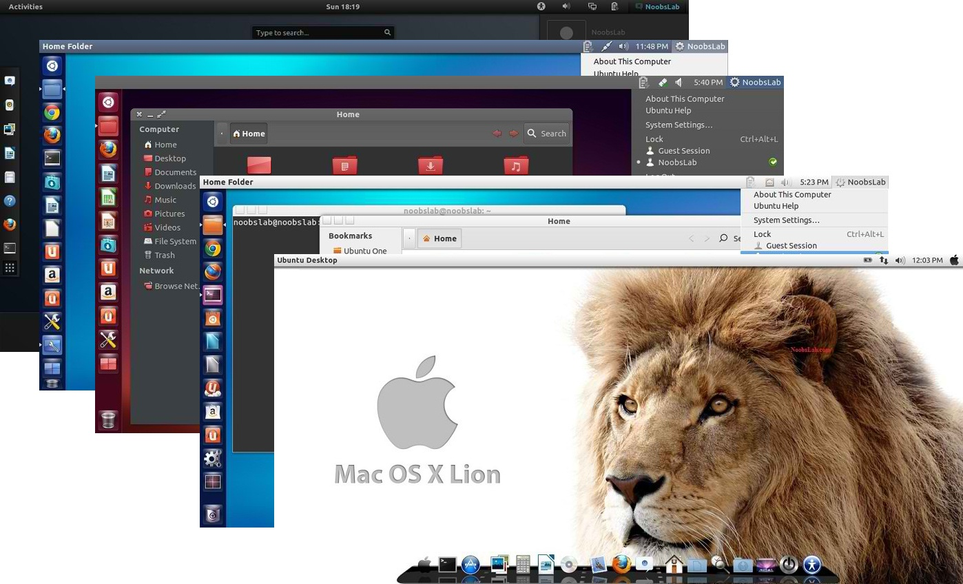 Ubuntu Macos Theme