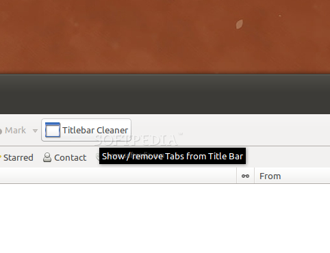 Titlebar Tabs Cleaner screenshot 1