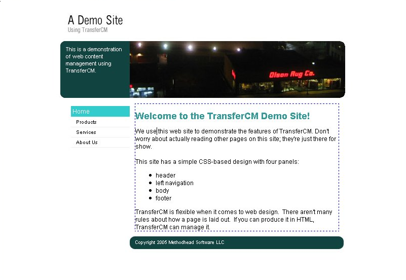 TransferCM screenshot 2