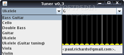 Tuner screenshot 2