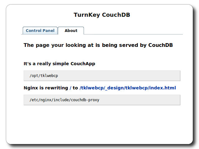 Download TurnKey CouchDB Live CD 15 0