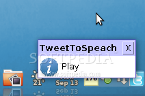 TweetToSpeach screenshot 1