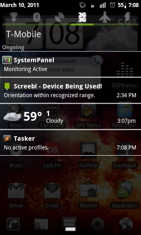 TyphooN CyanogenMod 7 Nightly screenshot 2