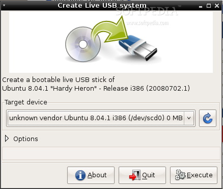 Download Ubuntu LiveUSB Linux 0.1.1