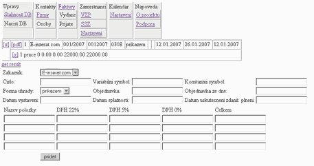 Ucetnictvi OnLine screenshot 1