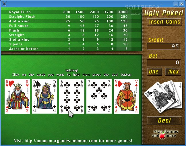 Ugly Poker screenshot 1