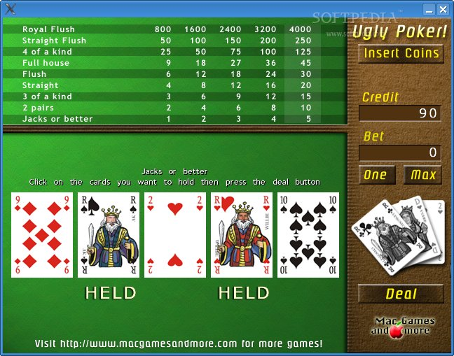 Ugly Poker screenshot 2