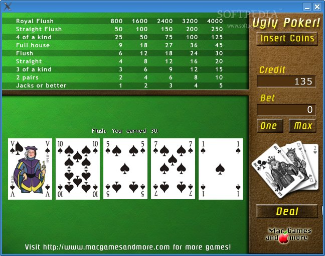 Ugly Poker screenshot 3