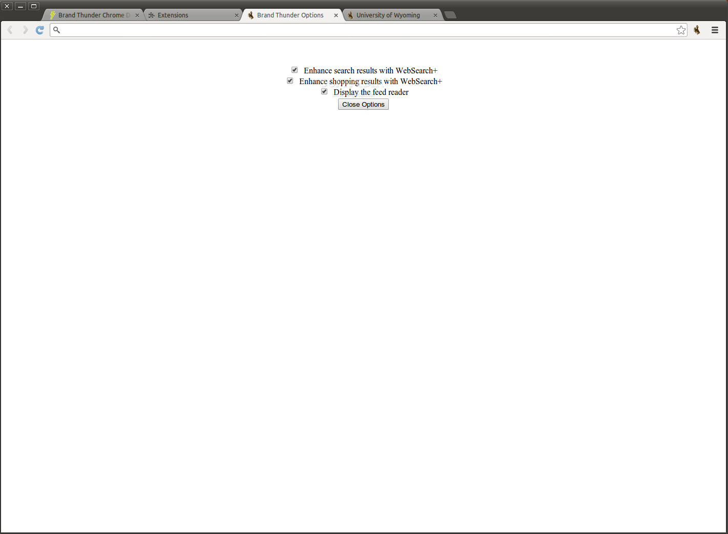 University of Wyoming for Google Chrome screenshot 2