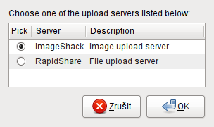 Upload Files screenshot 1