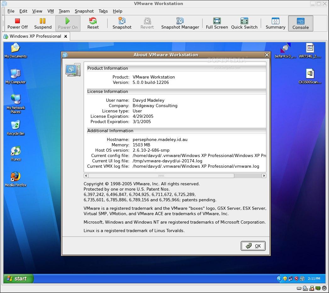 Vmware player for 32 bit