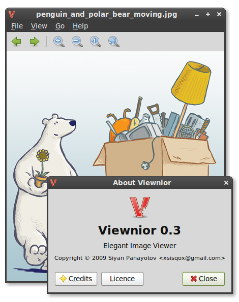 Viewnior screenshot 1