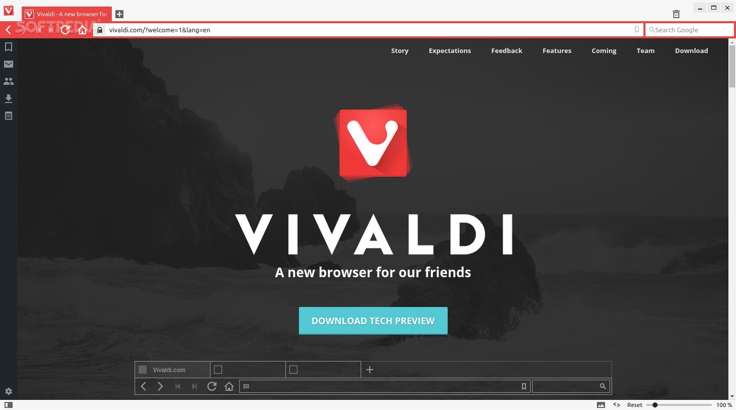 Vivaldi Web Browser 3.5.2115.71  For Win/Mac 2021