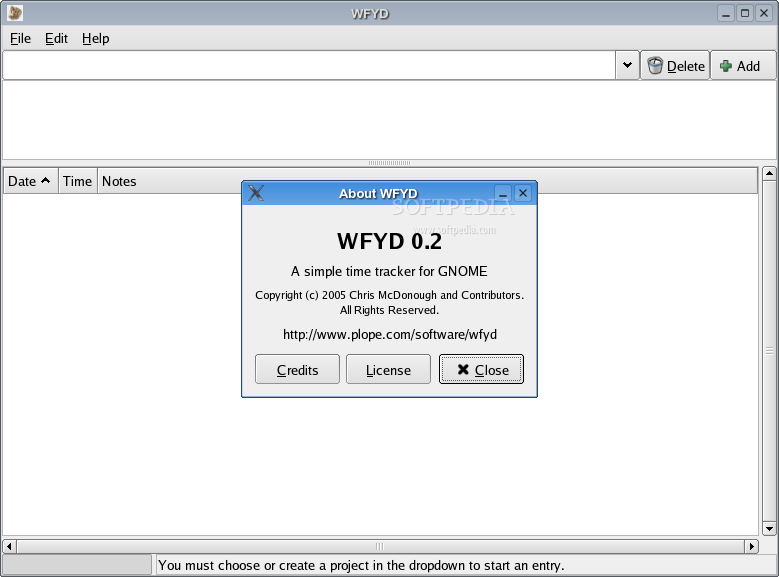 WFYD screenshot 1