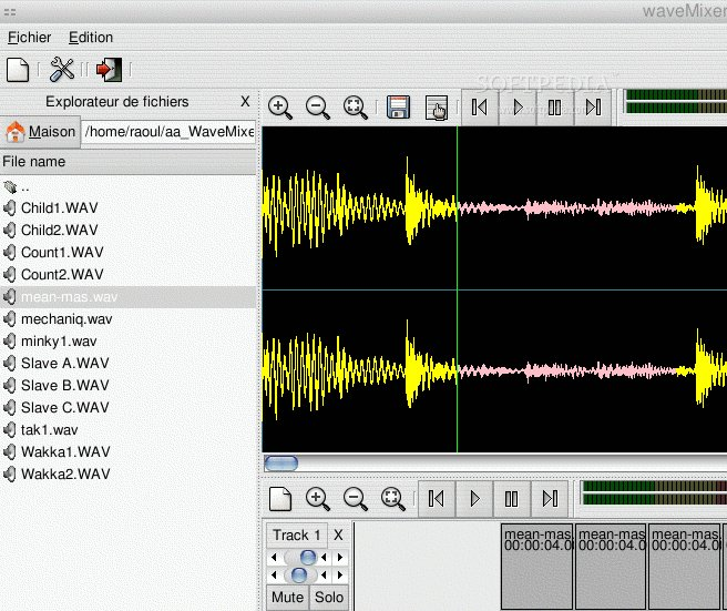 WaveMixer screenshot 2