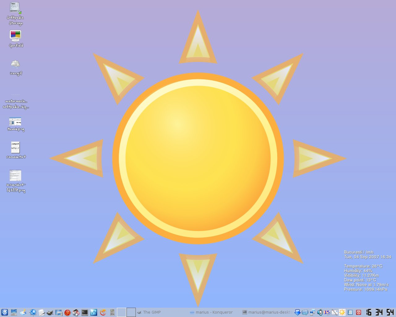 Screenshot 2 of Weather wallpaper. The image below has been reduced in size.