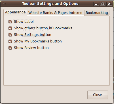 WebRank Toolbar screenshot 4