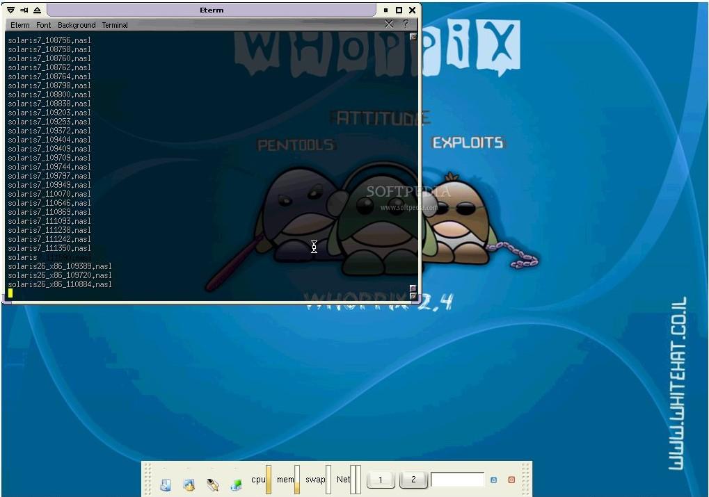 le live-cd whax 3.0