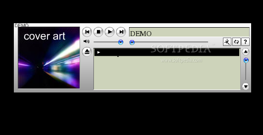 Wimpy MP3 Player screenshot 1